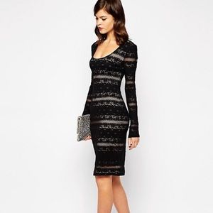 BCBG MaxAzria Tanya Bodycon Dress